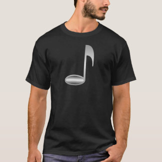 Wonderful Silver Music Note T-Shirt