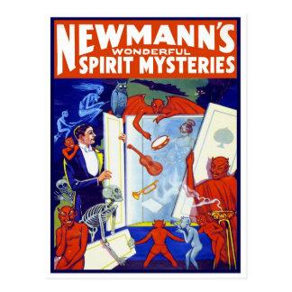 Wonderful Spirit Mysteries, 1911 Postcard