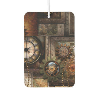 Wonderful steampunk design car air freshener
