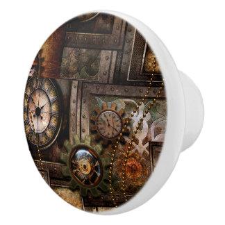 Wonderful steampunk design ceramic knob