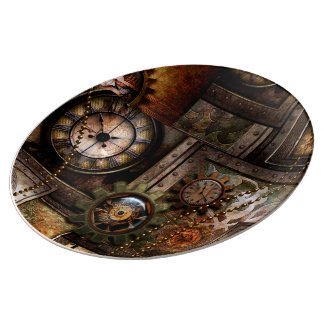 Wonderful steampunk design plate
