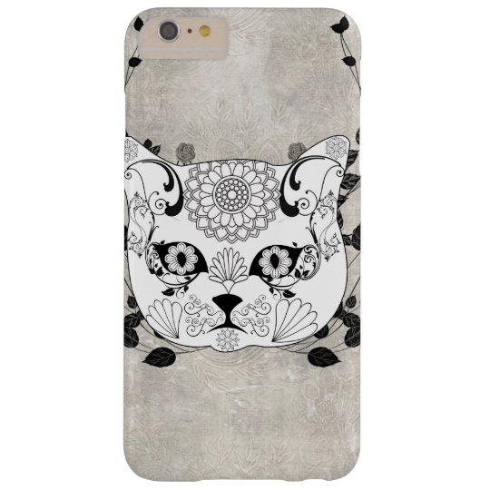 Wonderful sugar cat skull barely there iPhone 6 plus case