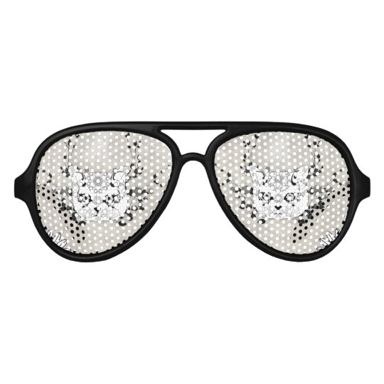 Wonderful sugar cat skull party sunglasses