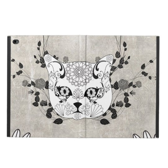 Wonderful sugar cat skull powis iPad air 2 case