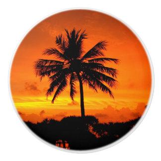 Wonderful Sunset Ceramic Knob