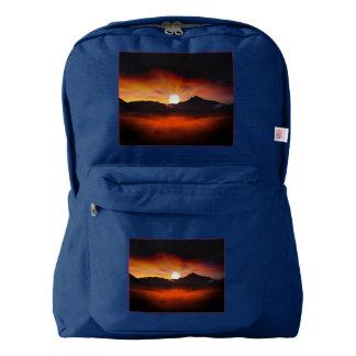 Wonderful Sunset Design Backpack