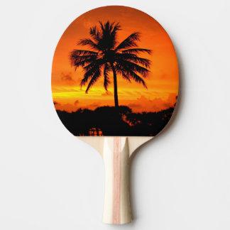 Wonderful Sunset Ping Pong Paddle