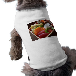 Wonderful Sushi Plate Print On Tees Cards & Gifts Pet Tshirt