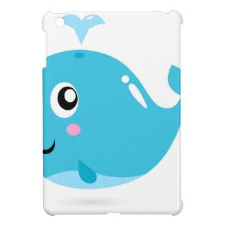 Wonderful t-shirts with Whale blue iPad Mini Cover