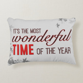 Wonderful Time Decorative Pillow
