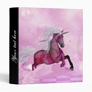 Wonderful unicorn binder