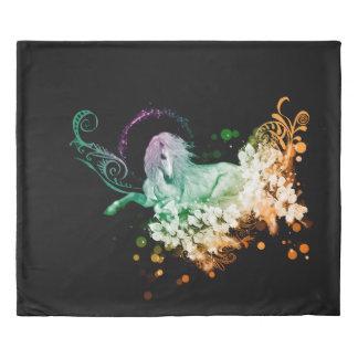 Wonderful unicorn duvet cover