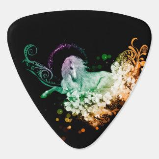 Wonderful unicorn guitar pick