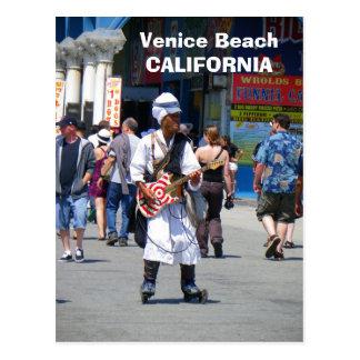 Wonderful Venice Beach Postcard! Postcard