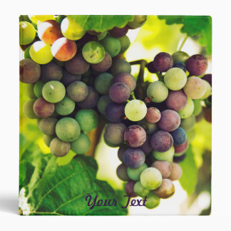 Wonderful Vine Grapes,  Autumn Fall Sun Binders