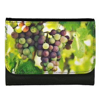Wonderful Vine Grapes,  Autumn Fall Sun Wallet For Women