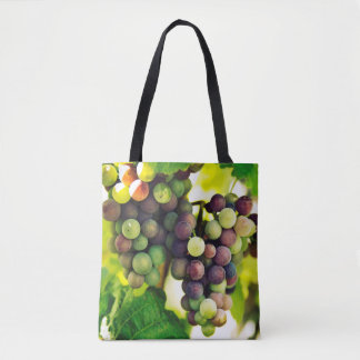 Wonderful Vine Grapes, Nature, Autumn Fall Sun Tote Bag