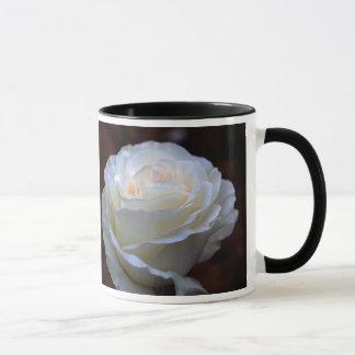 Wonderful White Rose Mug