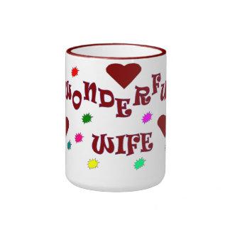 Wonderful wife mug