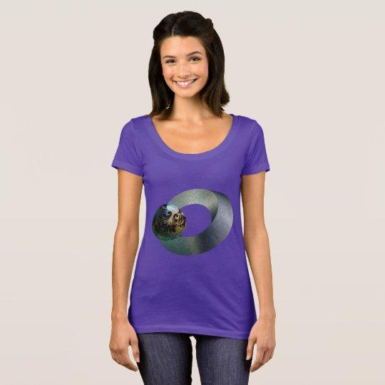 Wonderful Women's Next Level Scoop Neck T-Shirt