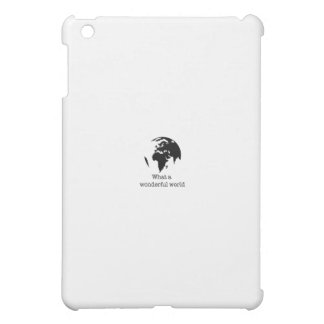 wonderful world iPad mini case