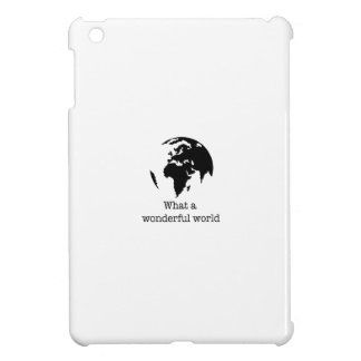 wonderful world iPad mini cover