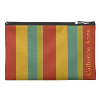Wonderful World Palette Stripe Personalized Travel Accessory Bag