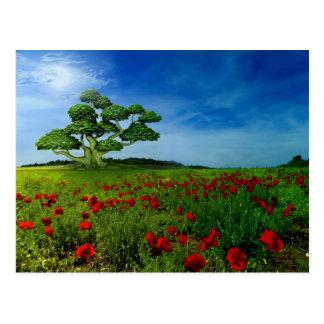 Wonderful World Postcard