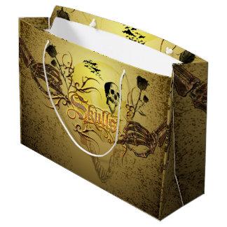 Wonderfull skull large gift bag