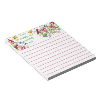 Wonderfully made notepad