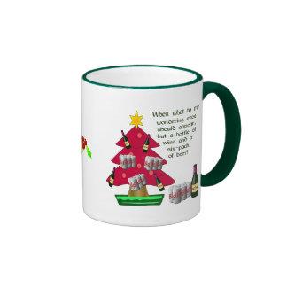 Wondering Eyes Ringer Mug