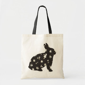 Wonderland 1 Rabbit Tote Bag