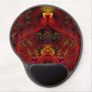 Wonderland Abstract Gel Mouse Pad