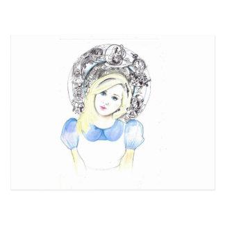Wonderland Alice Postcard