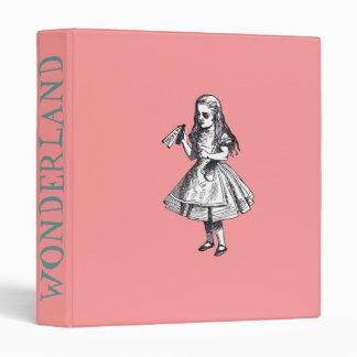 Wonderland Binder