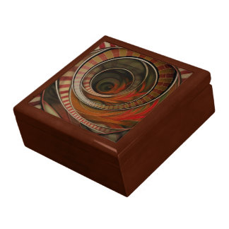 Wonderland Fractal Stairway, Three-Ringed Circus Gift Box