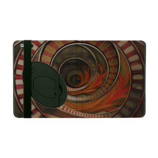Wonderland Fractal Stairway, Three-Ringed Circus iPad Case
