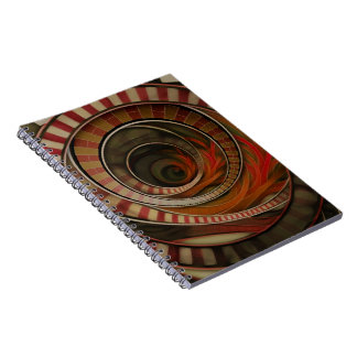 Wonderland Fractal Stairway, Three-Ringed Circus Notebooks