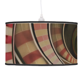 Wonderland Fractal Stairway, Three-Ringed Circus Pendant Lamp