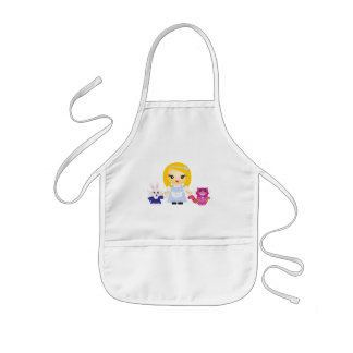Wonderland Kids Apron