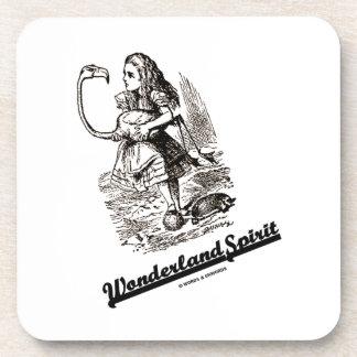 Wonderland Spirit (Alice & Her Flamingo) Coaster