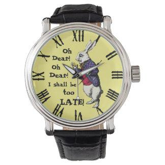 Wonderland White Rabbit Watch