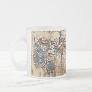 Wonderous Illusion Frosted Glass Mug