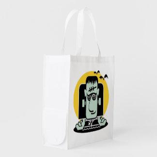 Wonderous Monster Reusable Grocery Bag