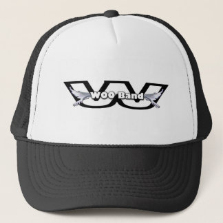 WOO Band Logo Trucker Hat