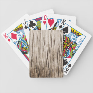 WOOD02 LIGHT BROWN WHITE WOOD TEXTURE BACKGROUNDS BICYCLE PLAYING CARDS