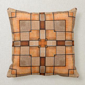 wood2 throw pillow