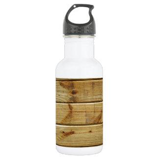 wood 532 ml water bottle