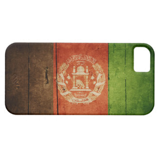 Wood Afghanistan Flag; Afghan iPhone 5 Covers