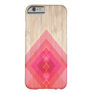Wood and Diamonds Phone Case (pinks)